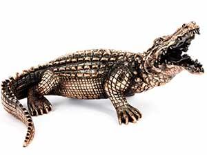 Подарочная фигурка аллигатора - фото darunok.ua