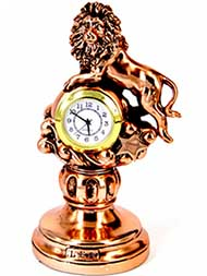 Фигурка с часами декоративная - фото Дарунок