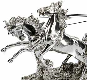 Статуэтка лошади - фигурка декоративная - фото darunok.ua