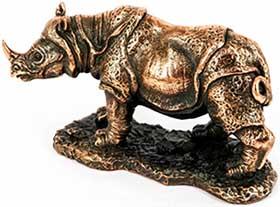 Статуя африканского животного подарочная - фото darunok.ua