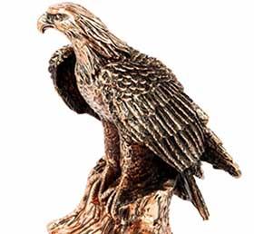 Статуя орла декоративная - фото darunok.ua