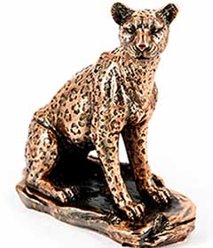 Подарункова статуетка леопард - фото Дарунок