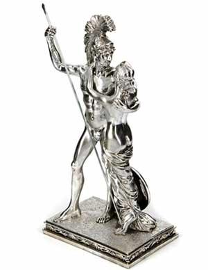 Подарочная статуэтка из полистоуна Argenti - фото darunok.ua