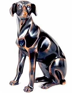 Статуетка мисливського пса - хороший подарунок - фото darunok.ua