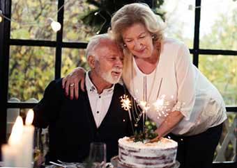 Побажання та подарунки на сімдесятиріччя - фото Дарунок