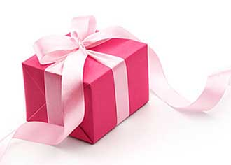 Красивый подарок - фото Дарунок