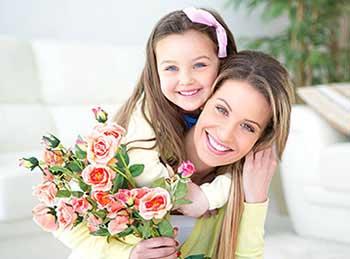 Нежные цветы для матери - фото интернет-магазина darunok.ua