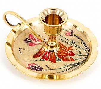 Красивый подарок с цветочным декором - фото Дарунок
