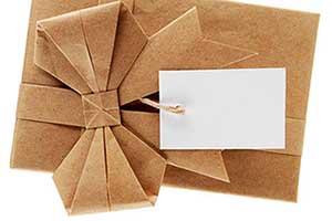 Креативная упаковка подарка - фото Дарунок