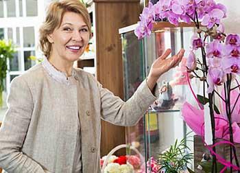 Квіти для бізнес леді на ювілей 55 років - фото darunok.ua
