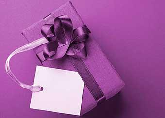 Роскошная дорогая упаковка - фото Дарунок