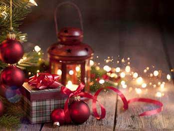 Красивый сувенир на Новый год - фото Дарунок