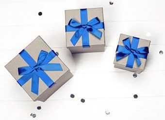 Варіант оформлення подарунків - фото Дарунок