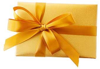 Подарунок Льву в красивій упаковці - фотографія darunok.ua