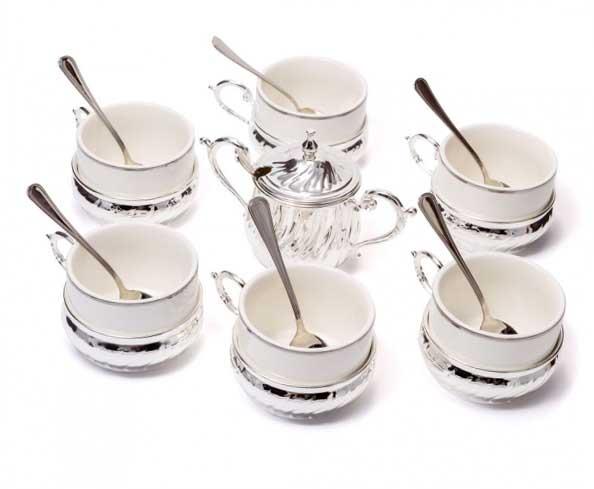 Чайний сервіз - відмінний подарунок жінці - фото Дарунок