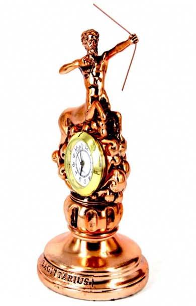 =Часы в виде знака зодиака Стрелец - фото Дарунок